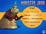 Disney•Pixar Monsters Inc.: Monster Tag Windows Main menu