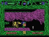 Rescue from Atlantis MSX Exploring on foot and meeting an octopus