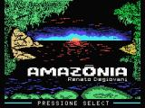 Amazônia MSX Loading screen