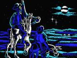 Don Quijote MSX Loading screen