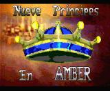 Nine Princes in Amber MSX Loading screen