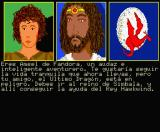 Dragonworld MSX Demo - Amsel, King Hawkwind and the last dragon
