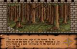 Dungeon Quest Amiga Outer edge of the forest