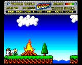 Wibble World Giddy: Wibble Mania! Amiga Fire