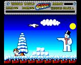 Wibble World Giddy: Wibble Mania! Amiga Snowman