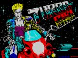 Turbo Girl ZX Spectrum Loading screen