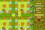 Boulder Dash EX Game Boy Advance Bees