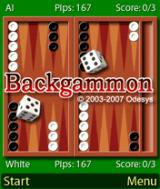 Backgammon J2ME Odesys Backgammon 3.1.0