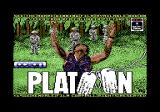 Platoon Commodore 64 Title screen