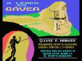 A Lenda da Gávea MSX Title screen