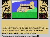 A Lenda da Gávea MSX Game start