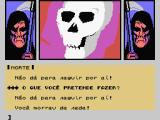 A Lenda da Gávea MSX Death screen