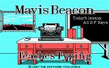 Mavis Beacon Teaches Typing! DOS Title Screen