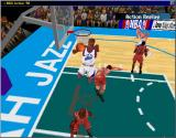 NBA Action 98 Windows The game may lack 3D hardware support, but the motion captured moves look excellent (window)