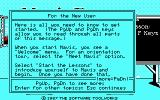 Mavis Beacon Teaches Typing! DOS Help for the new users