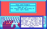 Mavis Beacon Teaches Typing! DOS Keys and Fingers...
