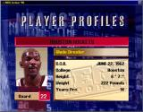 NBA Action 98 Windows It has player profiles for every player (window)