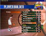 NBA Action 98 Windows You can create your own players with the editor (window)