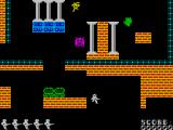 Tomb of Syrinx ZX Spectrum Moving downwards