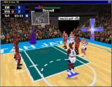 NBA Action 98 Windows You use the familiar cross to shoot your free throws (window)
