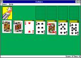 Microsoft Solitaire Windows 3.x New cardback patterns! (EGA)