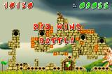 Fortress Game Boy Advance When a player wins, the loser castle explodes