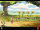 Piglet's Big Game Windows Going to Rabbit's house - Piglet spots a haycorn!