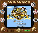 Animaniacs Game Boy Title Screen (SGB)