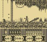 Universal Soldier Game Boy First Level