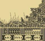 Universal Soldier Game Boy Roll into a Turrican ball