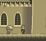 The Addams Family: Pugsley's Scavenger Hunt Game Boy Outside the Mansion