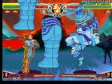 Darkstalkers 3 PlayStation In an attempt to avoid Anakaris' ES Move Coffin Fall for some instants, Demitri performs his dash.