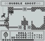 Bubble Ghost Game Boy Success!
