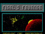 Rigel's Revenge ZX Spectrum Loading screen