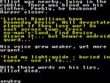 Rigel's Revenge ZX Spectrum Clues as your partner dies