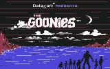 The Goonies Commodore 64 Loading screen