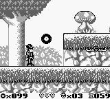 The Blues Brothers: Jukebox Adventure Game Boy A big mushroom is on the hill