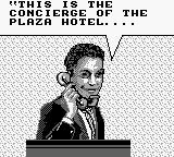 Home Alone 2: Lost in New York Game Boy The Concierge is onto you