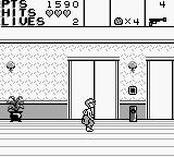 Home Alone 2: Lost in New York Game Boy The elevators at the end of the hall