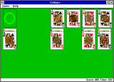 Microsoft Solitaire Windows 3.x Endgame -- just file them away! (Super VGA)