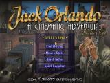 Jack Orlando: A Cinematic Adventure (Director's Cut) Windows The Main menu, in German language