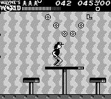 Wayne's World Game Boy The bonus level where you collect donuts and extra lives