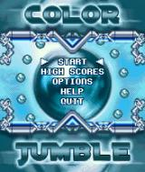 Color Jumble J2ME Main menu