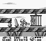 The Smurfs Game Boy After you kill the boss you get a key which allows you to rescue a fellow smurf