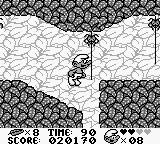 The Smurfs Game Boy Carefully time your jump here
