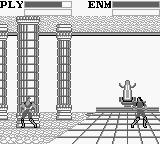 Fist of the North Star: 10 Big Brawls for the King of the Universe! Game Boy Fighting inside the temple