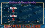 Kick Off 3: European Challenge DOS Controller selection