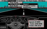 Ford Simulator II DOS Simulation events selection