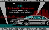 Ford Simulator II DOS Welcome to the Electronic Showroom