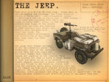 WWII: Desert Rats Windows Vehicle information